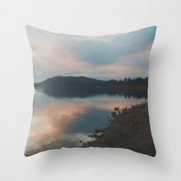 Big Bear Lake, CA Throw Pillow