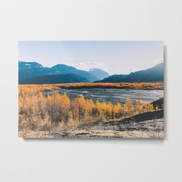 Alaskan Autumn - Kenai Fjords National Park Metal Print