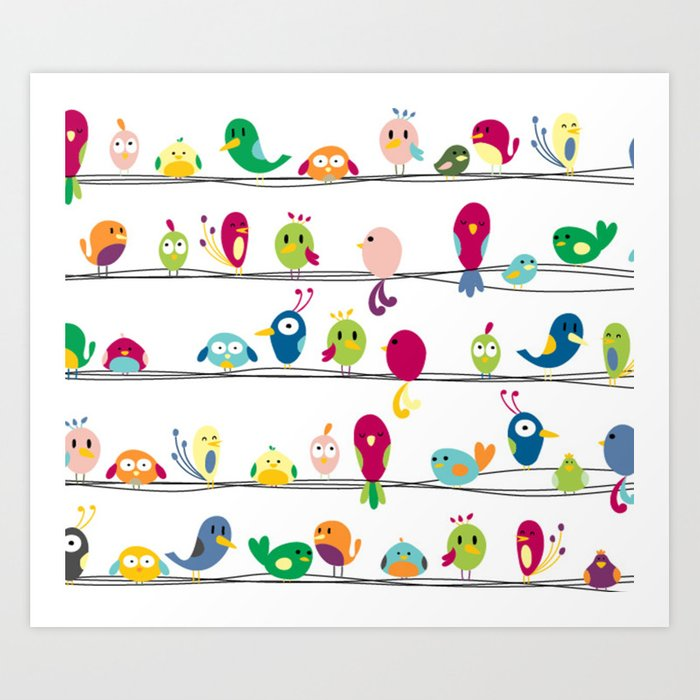 Singing Monsters Art Print