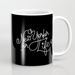 New Yorker For Life Coffee Mug