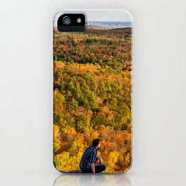 Looking at Autumn iPhone Case