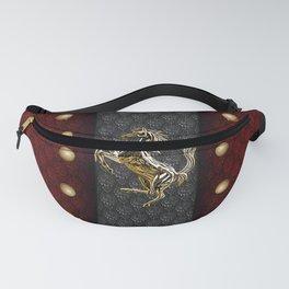 Prancing Horse (Golden) Fanny Pack