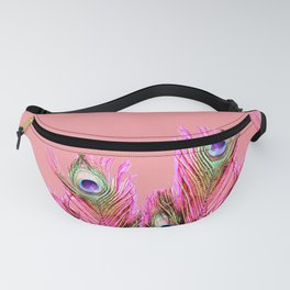Peacock Plumes II Fanny Pack