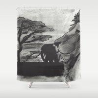 safari Shower Curtains featuring Safari by SaphronSunshine
