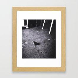The Little Guy Framed Art Print