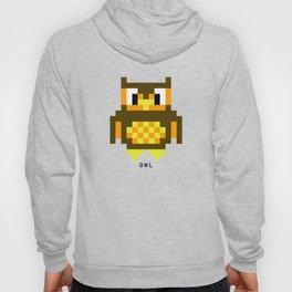 8 Bit Owl Hoody