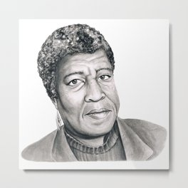 Octavia Butler Metal Print