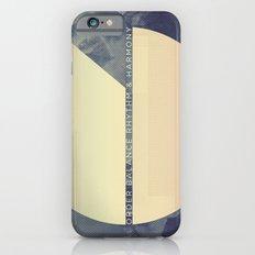 order, balance, rhythm & harmony iPhone 6s Slim Case