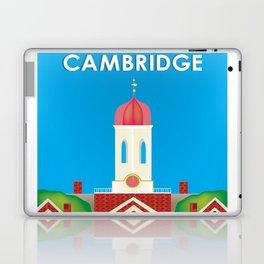 Cambridge, Massachusetts - Skyline Illustration by Loose Petals Laptop & iPad Skin