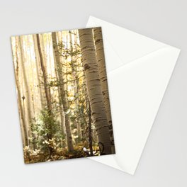 Light Among the Aspens x Rustic Mountain Art Stationery Cards