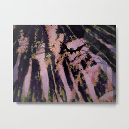 bat spore forest Metal Print