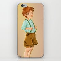 neil young iPhone & iPod Skins featuring young & skeptic by theginga15