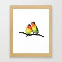 Love Bird. Framed Art Print