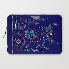 Santa Fe Garden – Navy Laptop Sleeve