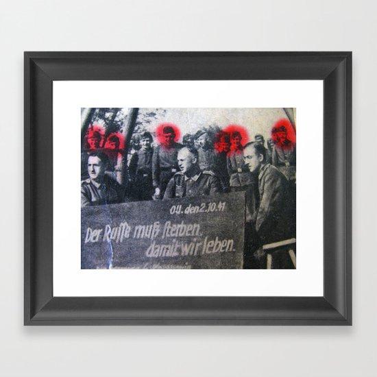 дёшево  Framed Art Print
