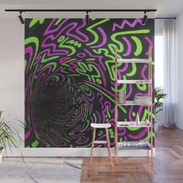 Reality Tunnel Wall Mural