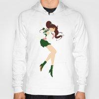 sailor jupiter Hoodies featuring Sailor Jupiter (Green) by karla estrada