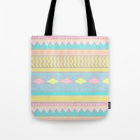 egyptian Tote Bags featuring Egyptian II by Louise Machado