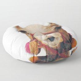 Camel Floor Pillow