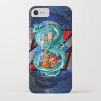 dbz iPhone & iPod Cases featuring DBZ - Goku Super Saiyan God by Mr. Stonebanks
