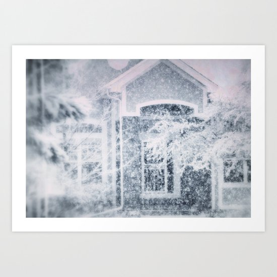 winter tale Art Print
