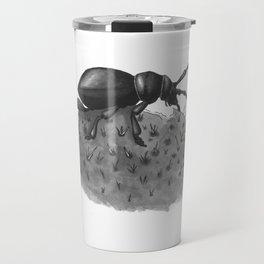 Inktobober 2016: Cactus Longhorn Beetle Travel Mug