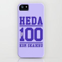 Heda Kom SkaiKru iPhone Case