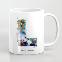 literature Mugs featuring Lost in Literature by Fred McEntire