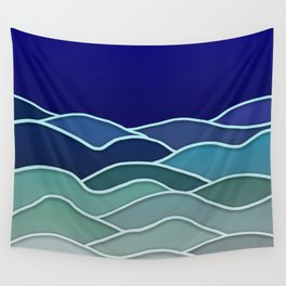 Minimal Landscape 2 Wall Tapestry
