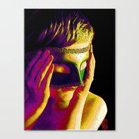anonymous Canvas Prints featuring Anonymous  by Dream Realm Photography and Art