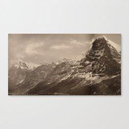 Panorama du Lauberhorn Canvas Print