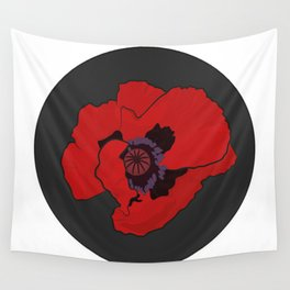Poppy time Wall Tapestry