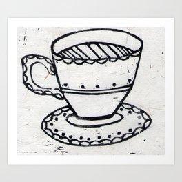 Lovely Cuppa Art Print