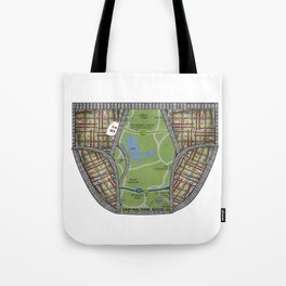 UNDERWEAR LOVE: NY UNDIES Tote Bag