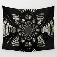 fractal Wall Tapestries featuring Fractal by Aaron Carberry