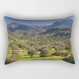 Five Finger Mountain Rectangular Pillow