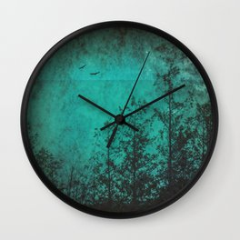 Faded Souls Wall Clock