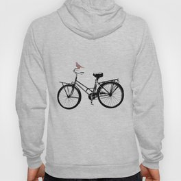 Baker's bicycle with bird Hoody