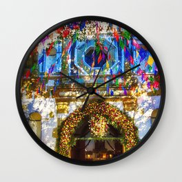 Fiesta time in Mexico Wall Clock