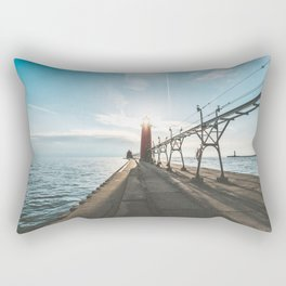 Grand Haven Lighthouse Rectangular Pillow