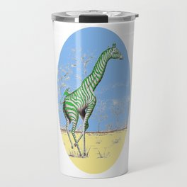 Girafe printemps Travel Mug