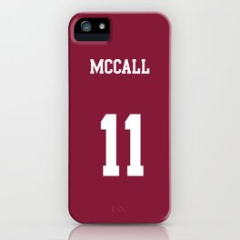 MCCALL - 11 iPhone Case