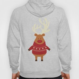 Rudolph Red Nosed Reindeer in Ugly Christmas Sweaters Hoody