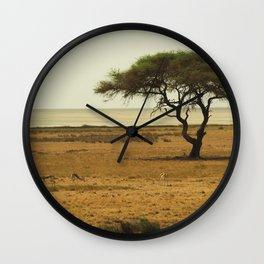 African Savannah Wall Clock