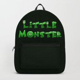 Little Monster (dark bg) Backpack