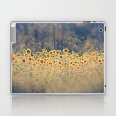 Field of Sunflowers Laptop & iPad Skin