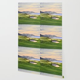 Pebble Beach Golf Course 9th Green Wallpaper