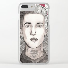 Jesse Rutherford Clear iPhone Case