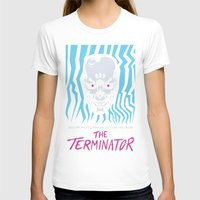 terminator T-shirts featuring The Terminator by Daniel Grushecky