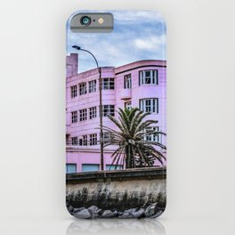 Old Style Waterfront Hotel, Montevideo, Uruguay iPhone Case